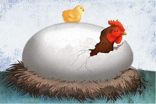 Which came first? The Chicken or the Egg?