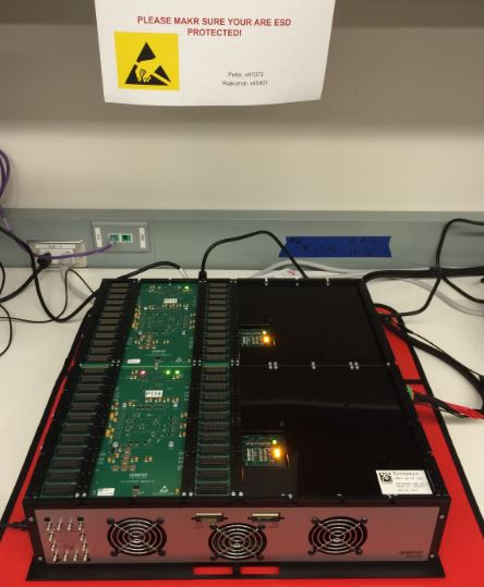 HAPS System with Xilinx UltraScale VU440 devices in Synopsys lab