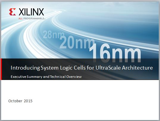 Xilinx Cover Slide