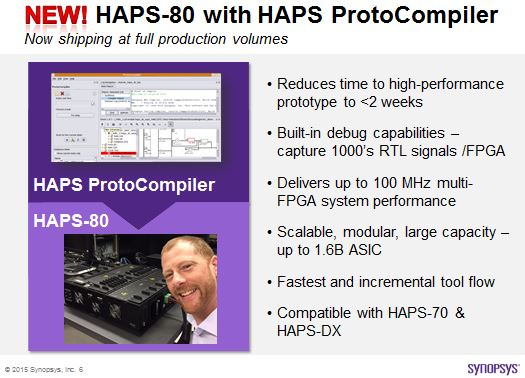 Don't expect to see this in the official Synopsys presentation slide deck