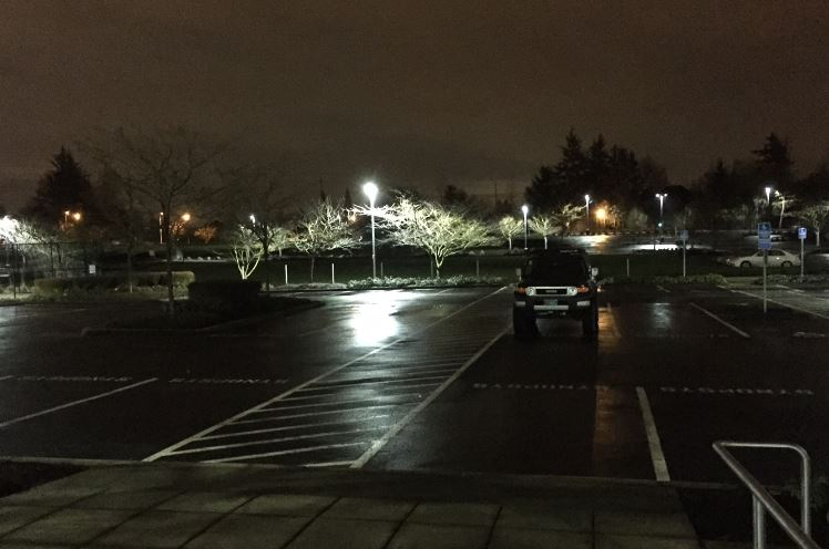 First In, Last Out - My truck in the Synopsys car park