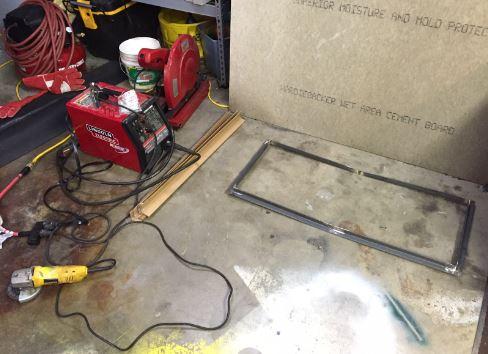 Mick's welding project