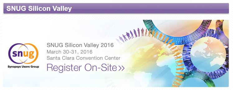 http://www.synopsys.com/Community/SNUG/Silicon%20Valley/pages/default.aspx