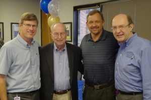 Mike Hayford, the late Darryl Gustafson, Tom Walker, and Bruce Irving