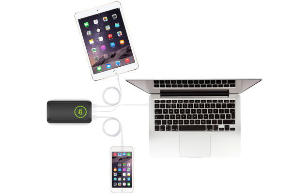 Type C USB Battery - Charging 3 devices -Gizmodo