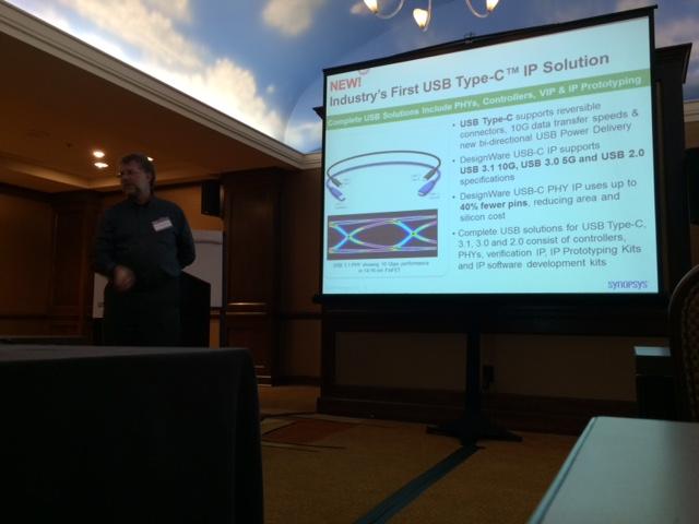 Morten talking about USB 3.1
