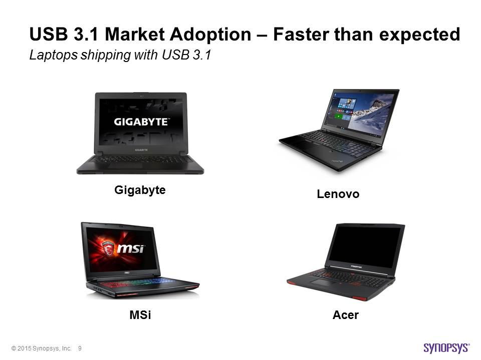USB 3-1 Laptops