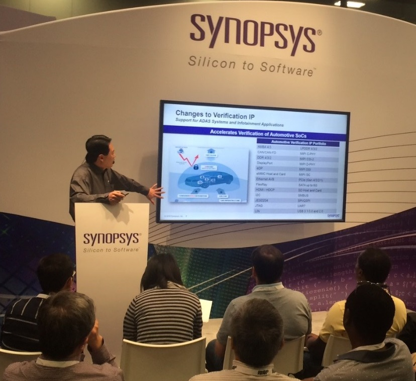 Synopsys Highlighted Automotive Verification Solutions