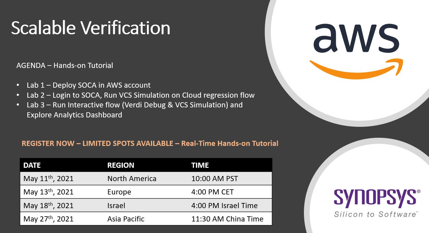 Hands-on Verification Tutorials Hosted on AWS Environment
